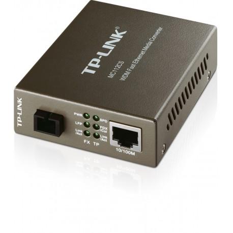 TP-LINK MC112CS 10/100Mbps WDM Media Converter