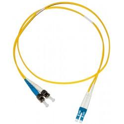 LC - ST Singlemode (9/125) Duplex Fibre Patch Lead