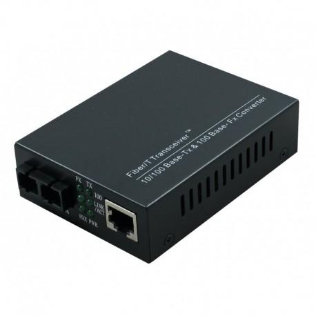 SC Multimode 100Mbps Fibre Media Converter