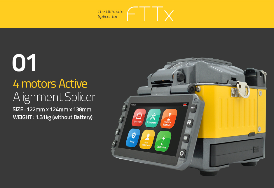 The ultimate splicer for fTTx
