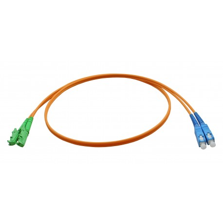 Custom E2000 Fibre Patch Leads
