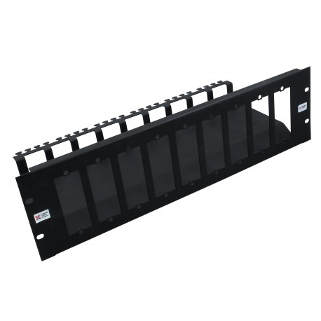 3u 10 Slot Unloaded Modular MTP Cassette Patch Panel