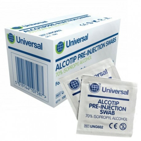 Pre-Moistened Alcohol Wipes